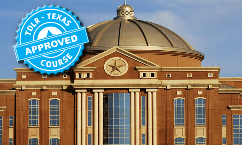 State of Texas Approved for ticket dismissal and insurance reduction. CP246, C#